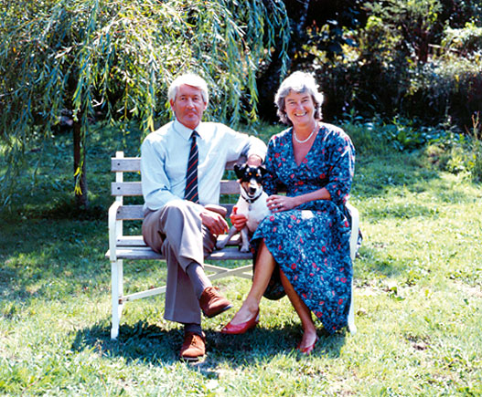 Tony and Clare Tregoning.